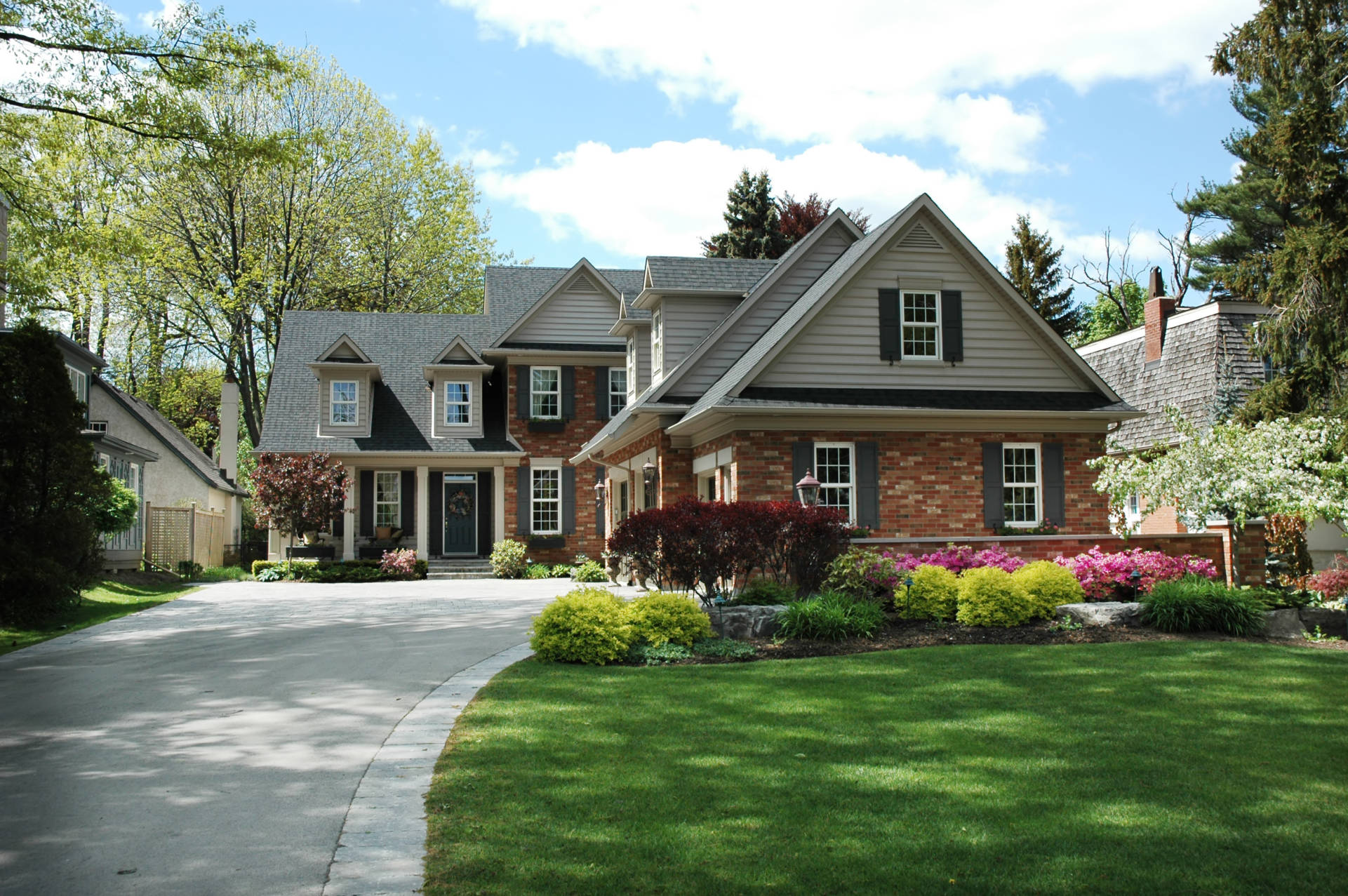 brick-front-luxury-home A & A Pest Control | Manchester, CT - Get $25  OFF Seasonal Services
